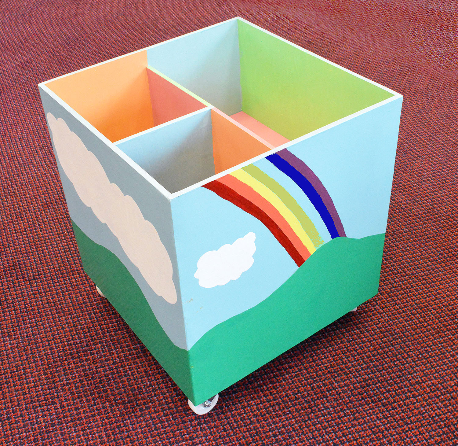 toy and book box for playgroup